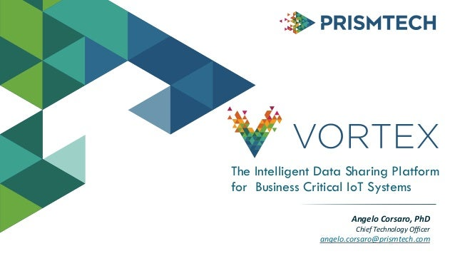 The Intelligent Data Sharing Platform for Business Critical IoT Systems Angelo  Corsaro,  PhD   Chief  Technology...