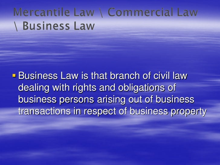 an introduction to the rules and principals of commercial law Introduction compensatory damages – as the name indicates – are intended to compensate a claimant for losses suffered as a result of the other party's ( wrongful) conduct those losses can be pecuniary (ie, arising from a breach of contract, loss of profit, related expenses) or non-pecuniary (ie, for pain and suffering, loss.