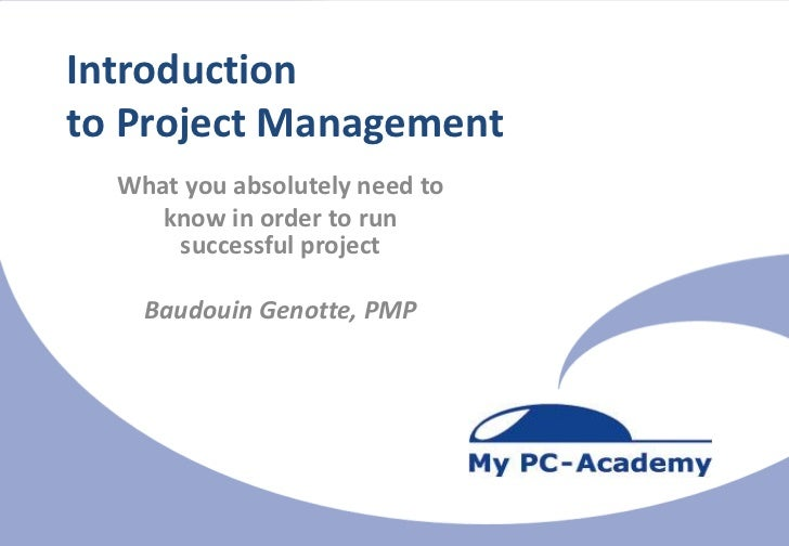 Unlock Your Project-PotentialIntroductionto Project Management  What you absolutely need to                               ...