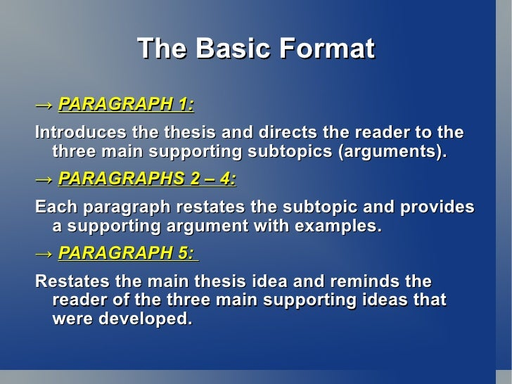 how to write an essay intro paragraph