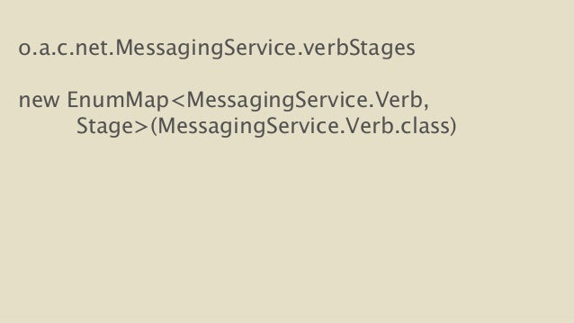 o.a.c.net.MessagingService.verbStages  !  new EnumMap<MessagingService.Verb,  Stage>(MessagingService.Verb.class)