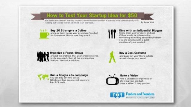 Intro a la lean startup - Atelier #1 BuntuTEKI 2014