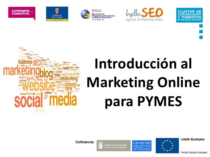 Introducción al      Marketing Online         para PYMESCofinancia: