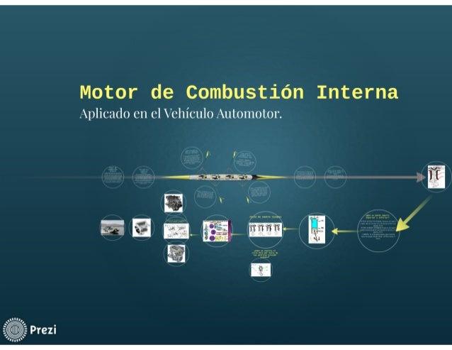 Introducción Básica a Motores de combustión Interna