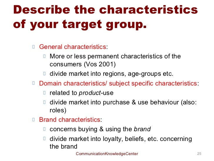 Target Market Analysis Image Gallery  Hcpr