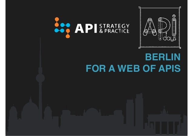 BERLIN FOR A WEB OF APIS