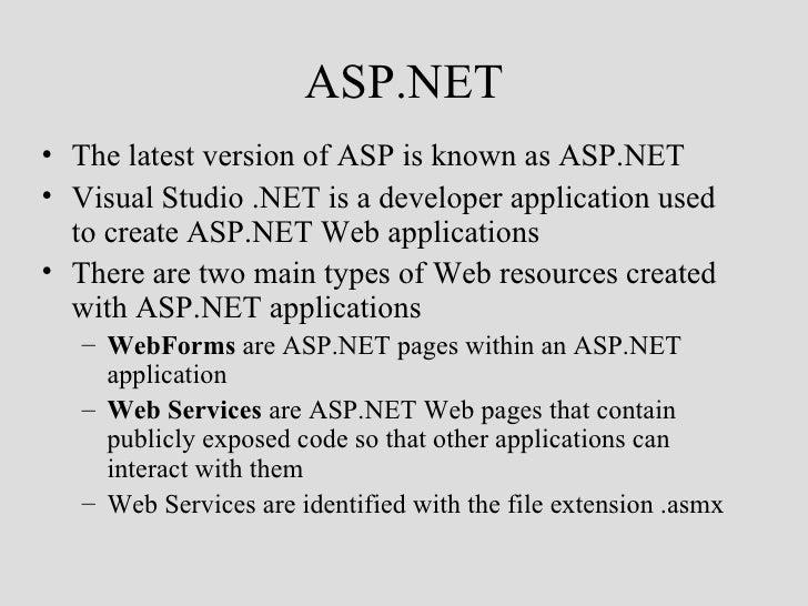 Introasp Net 7364068 Ppt
