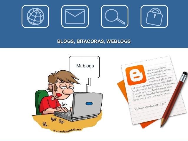 BLOGS, BITACORAS, WEBLOGS      Mí blogs