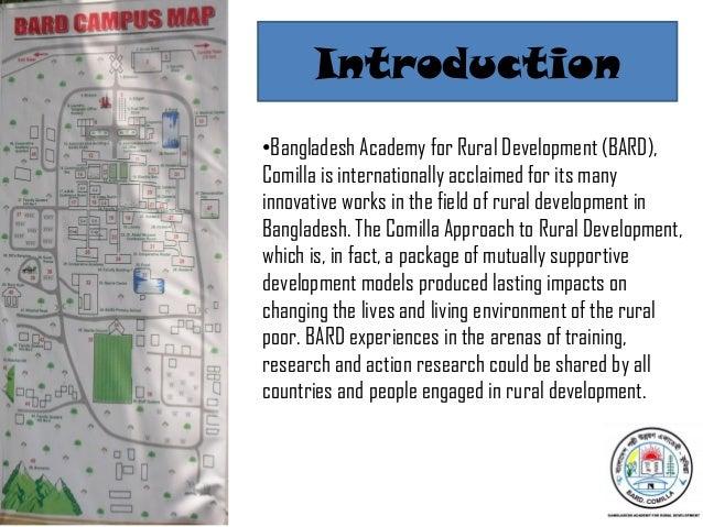 Bangladesh Academy for Rural Development (BARD),