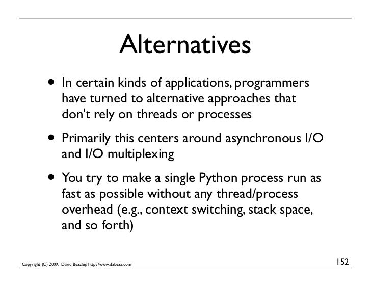 An Introduction to Python Concurrency