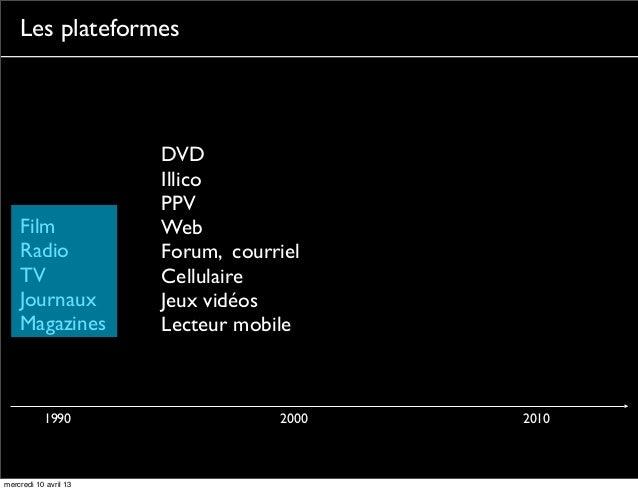 Les plateformes                       DVD                       Illico                       PPV    Film               Web...