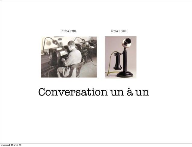 circa 1791   circa 1870                       Conversation un à unmercredi 10 avril 13