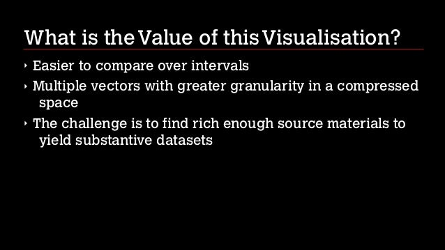 Intro to Data Vis for the Humanities nov 2013