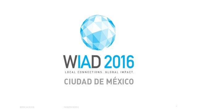 01 WORLD IA DAY 2016 CIUDAD DE MÉXICO CIUDAD DE MÉXICO