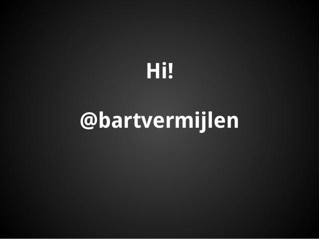 Hi!@bartvermijlen