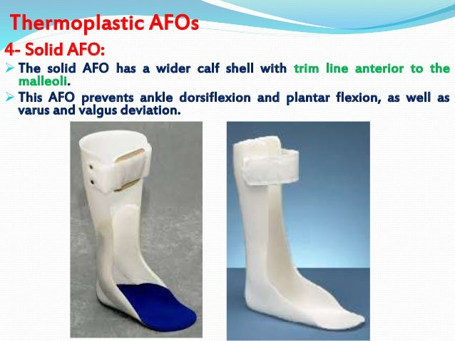 Introd ll orthosis for Floor reaction afo
