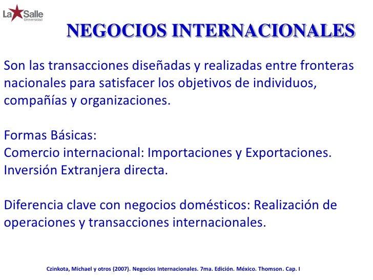 Negocios internacionales 1 2 concepto for Nociones basicas de oficina concepto