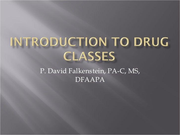 P. David Falkenstein, PA-C, MS, DFAAPA
