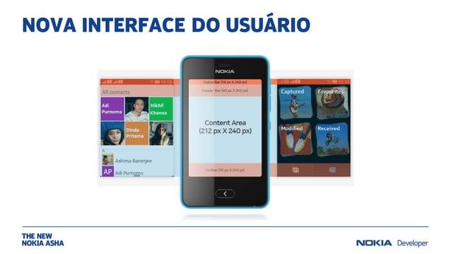 NOVA INTERFACE DO USUÁRIO