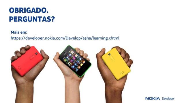 Introducao a nova plataforma nokia asha
