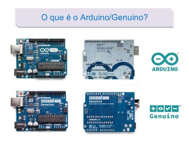 O que é o Arduino/Genuino?