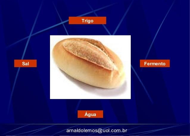 TrigoSal                             Fermento            Água      arnaldolemos@uol.com.br