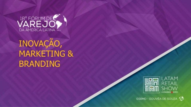 INOVAÇÃO, MARKETING & BRANDING