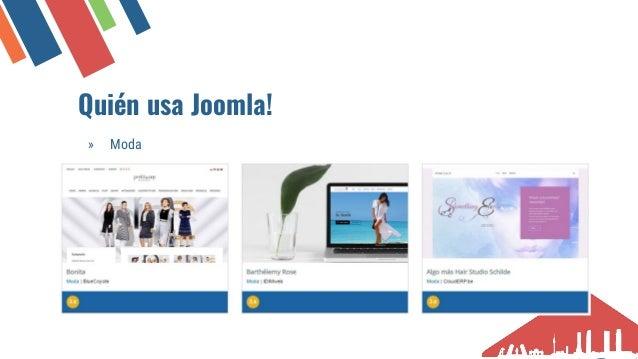 Qui�n usa Joomla! � Educaci�n