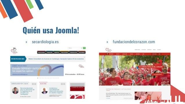 Qui�n usa Joomla! � Propietario de tu sitio web � Creador de sitios web � Compa��as de hosting � Desarrolladores de extens...