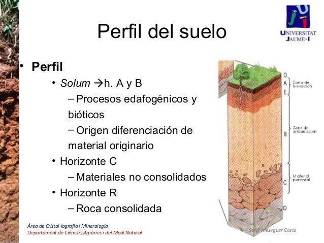 Introducci n a la edafolog a 1 for Partes del suelo