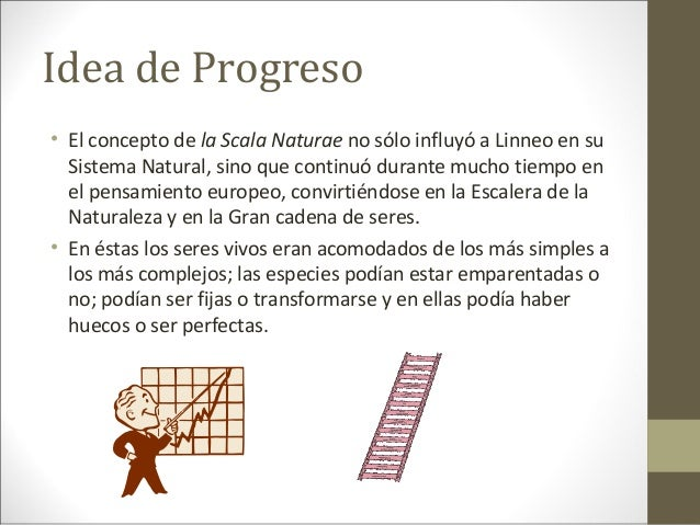 idea de progreso definition