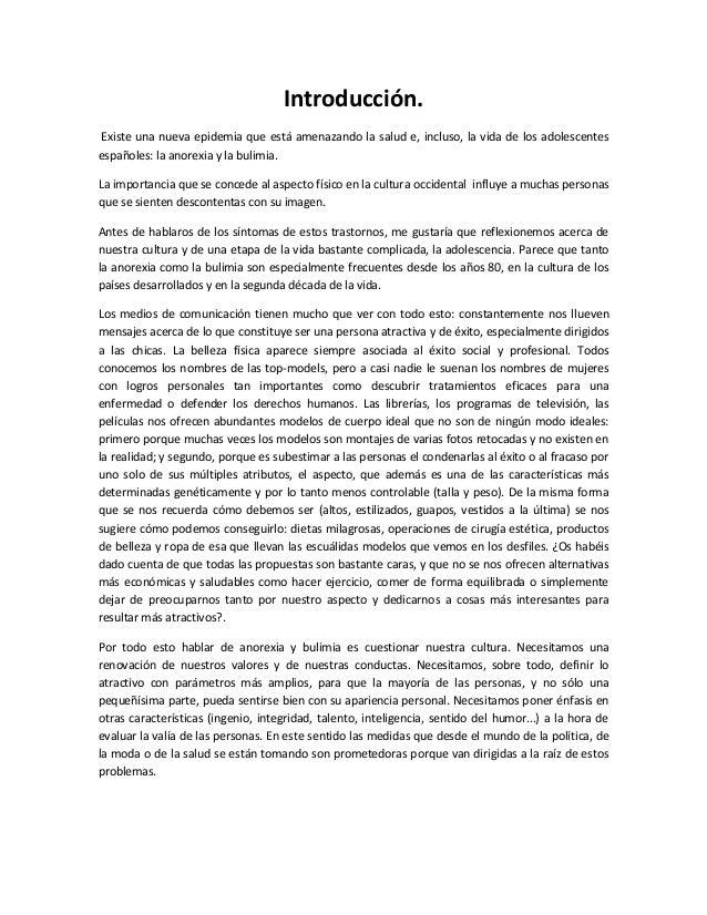 Introducción. Existe una nueva epidemia que está amenazando la salud e, incluso, la vida de los adolescentes españoles: la...
