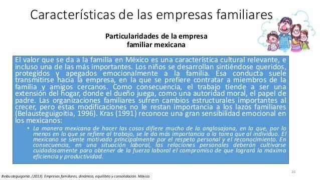 El valor que se da a la familia en México es una característica cultural relevante, e incluso una de las más importantes. ...