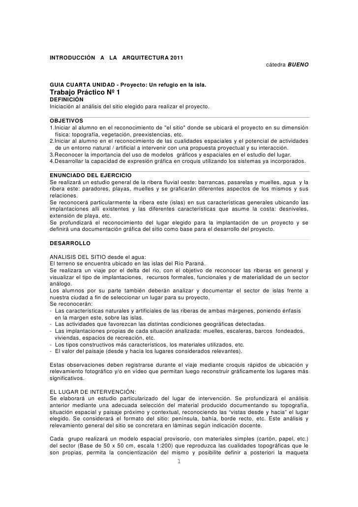 INTRODUCCIÓN A LA ARQUITECTURA 2011                                                                                    cát...