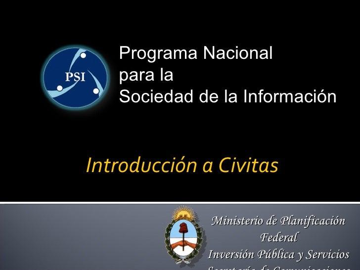 Introducción a Civitas