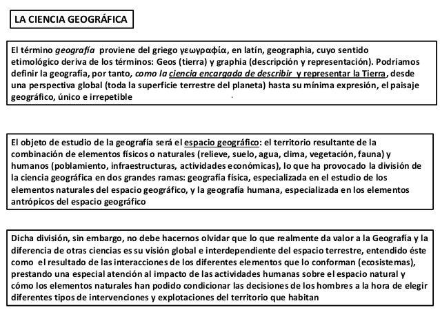 Introducción A La Geografía
