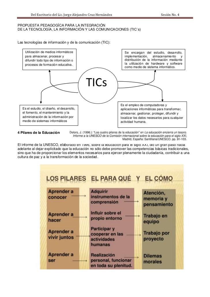 PROPUESTA PEDAGOGÍCA PARA LA INTEGRACIÓN <br />DE LA TECNOLOGÍA, LA INFORMACIÓN Y LAS COMUNICACIONES (TIC`s) <br />TICsSe ...