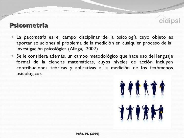 Introducción a la Psicometría