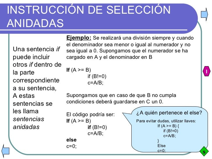 Introducción A Las Estructuras De Seleccion En C