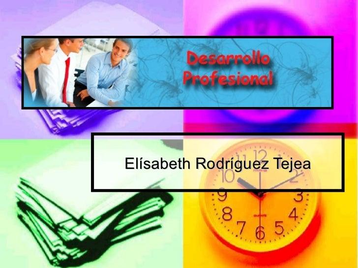 Elísabeth Rodríguez Tejea