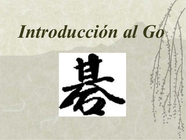 Introducción al Go