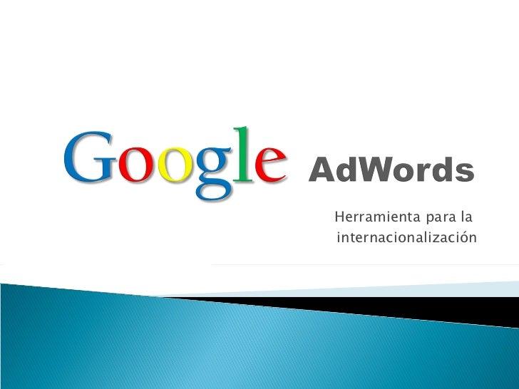 Introducción a los fundamentos de Google Adwords