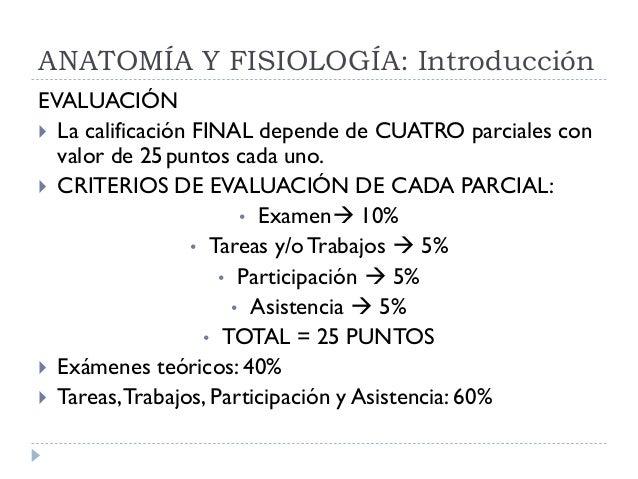 ANATOMIA Y FISIOLOGIA NOCTURNO: Introducción a la Anatomía y Fisiolog…