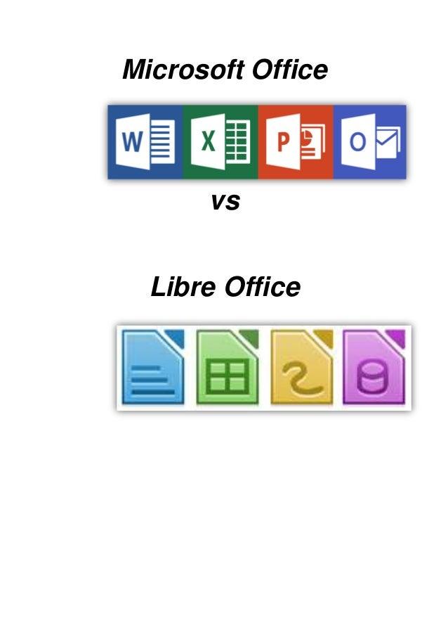 Microsoft Office vs Libre Office