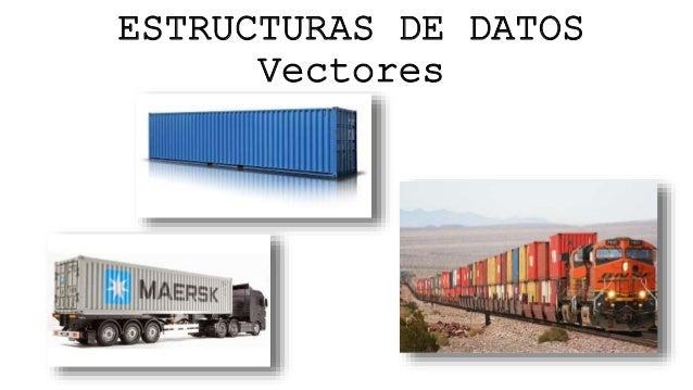 ESTRUCTURAS DE DATOS Vectores