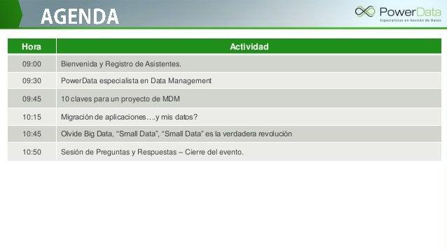 Introducción PowerData Slide 2