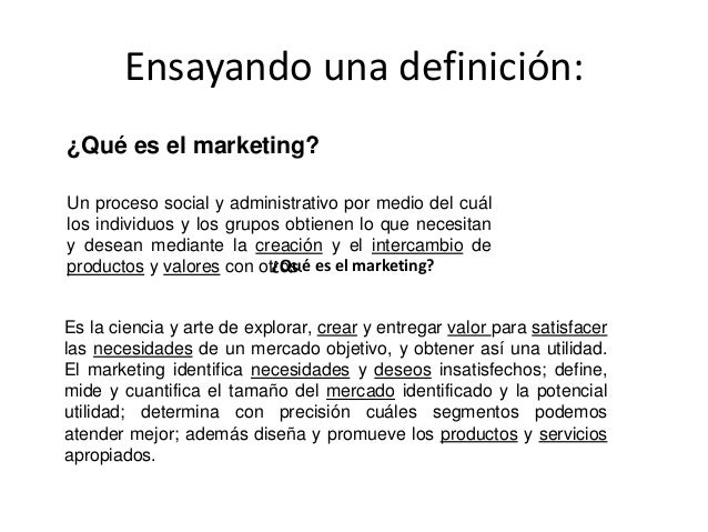 Ensayando una definición: Un proceso social y administrativo por medio del cuál los individuos y los grupos obtienen lo qu...