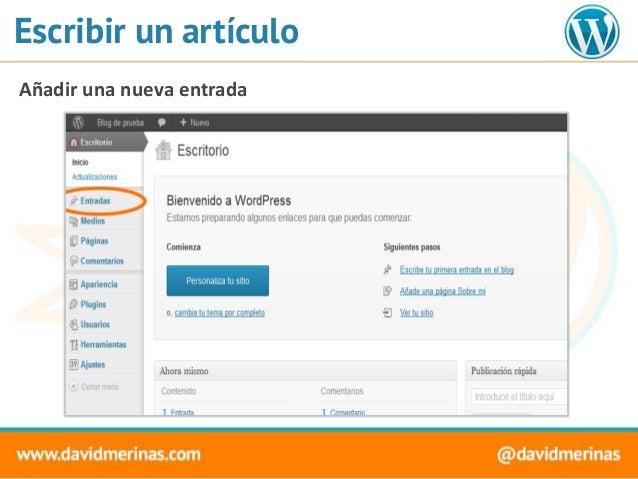 Introduccion a Wordpress - Empezando desde cero