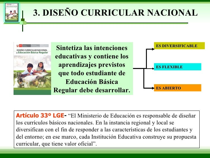 dise o curricular 2009 exposicion On diseno curricular nacional 2016 pdf