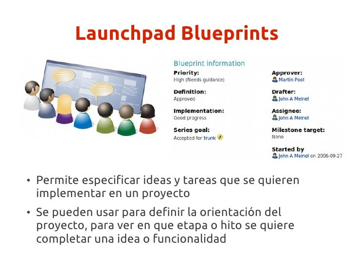 Introduccion al desarrollo con launchpad launchpad answers 14 launchpad blueprints malvernweather Image collections